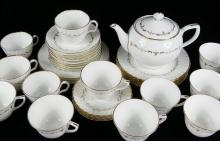 TWO PARTIAL ENGLISH TEA SETS