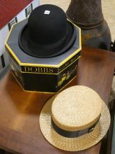 TWO HATS AND BOX