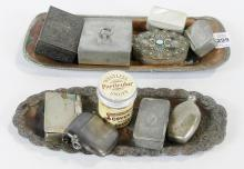 SNUFF BOXES AND MATCH CASES