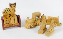 WOOD CARVINGS, TOYS