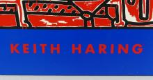 KEITH HARING POSTERBOARD