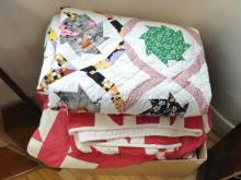QUILTS, COVERLETS AND BLANKET