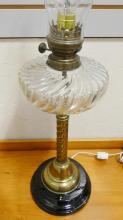 PILLAR OIL LAMP
