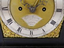 GEORGE III BRACKET CLOCK
