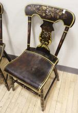 PAIR ANTIQUE SIDE CHAIRS