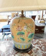 PAIR OF ASIAN TABLE LAMPS
