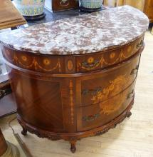 FRENCH CONSOLE CABINET
