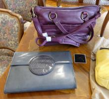 FIVE LADIES' HANDBAGS