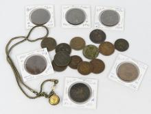 TOKENS AND NECKLACE