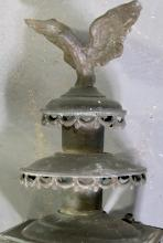 PAIR OF BARONIAL ARMCHAIRS