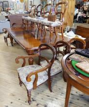 SET OF TEN VICTORIAN DINING CHAIRS