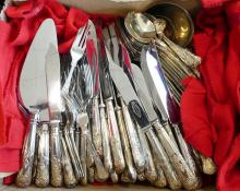 SHEFFIELD SILVERPLATE FLATWARE