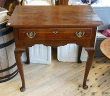 OAK STAND TABLE