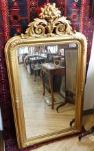 LARGE VICTORIAN WALL MIRROR