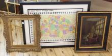 MAP, PRINT AND FRAME