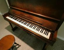 HEINTZMAN PIANO & STOOL