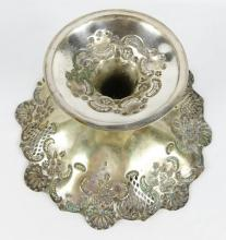 EARLY SILVERPLATE TAZZA