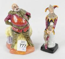 TWO MINIATURE ROYAL DOULTON FIGURINES