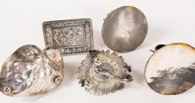 THREE SILVERPLATED ENTREE DISHES
