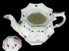 EARLY STAFFORDSHIRE TEAPOT