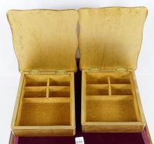 JEWELLERY BOX AND DRESSER BOXES