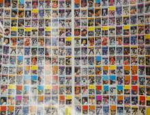 UNCUT DOUBLE SHEET OF HOCKEY CARDS